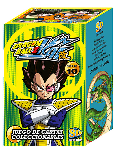 Dragon ball z kai serie 10 cartas
