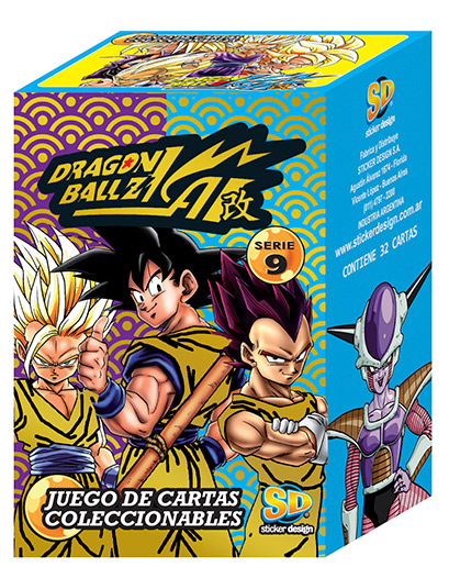 Dragon ball z kai serie 9 cartas